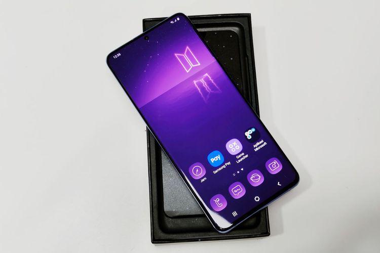 BTS Kolaborasi Dengan Samsung Luncurkan Galaxy S20 Plus